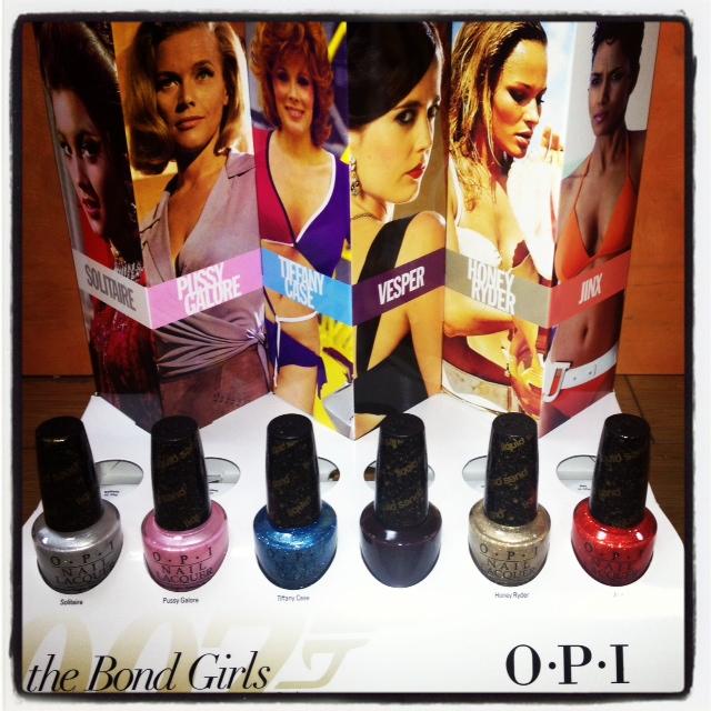 OPI Color Alert: The Bond Girls Collection is Here! – Stil Salon & Spa